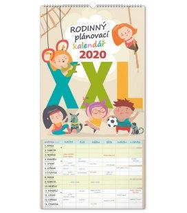 Wall calendar Family planner XXL 2020