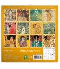 Wall calendar Gustav Klimt mini 2020