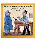 Wall calendar Josef Lada – Schwejk 2020