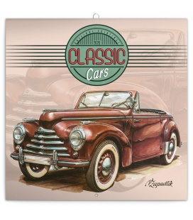 Wall calendar Classic Cars – Václav Zapadlík 2020