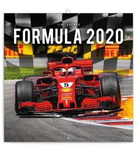 Wall calendar Formula 2020