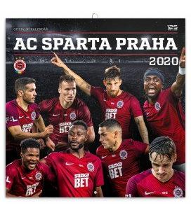 Wall calendar AC Sparta Praha 2020