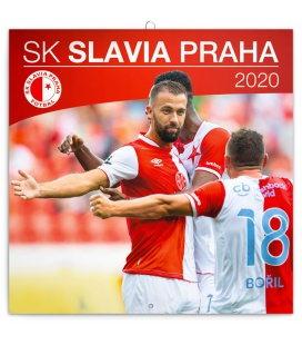 Wall calendar SK Slavia Praha 2020