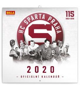 Wall calendar HC Sparta Praha 2020