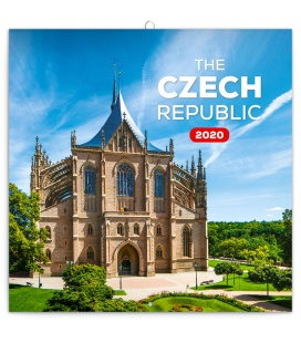 Wall calendar Czech Republic mini 2020