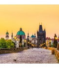 Wall calendar Prague mini 2020