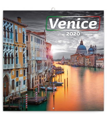 Wall calendar Venice 2020
