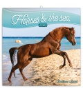 Wall calendar Horses and the Sea 2020