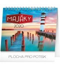 Table calendar Lighthouses planner 2020