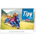 Table calendar Travel tips with kids 2020