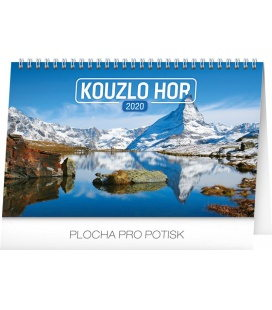 Table calendar Magical mountains 2020