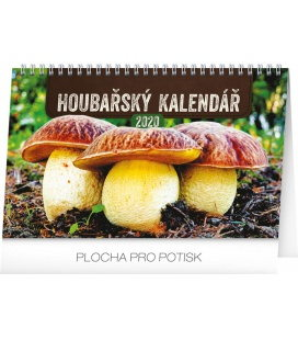 Table calendar Mushrooms 2020