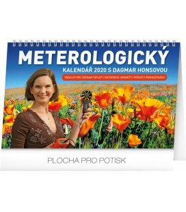 Table calendar Meteorology 2020