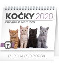 Table calendar Cats – with cat names 2020