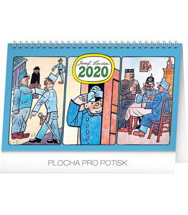 Table calendar Josef Lada – Svejk 2020
