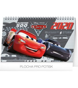 Table calendar Cars 3  2020