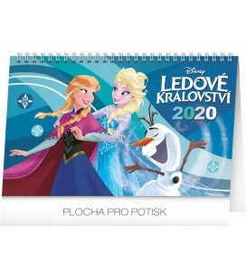 Table calendar Frozen 2020