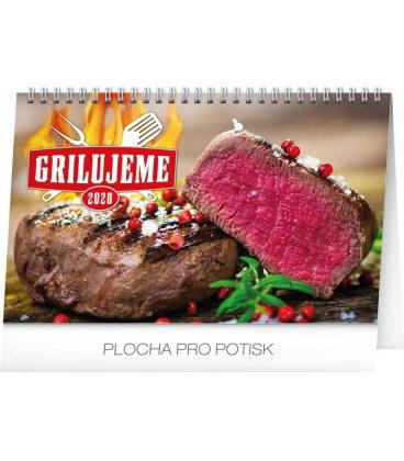 Table calendar Grilling 2020