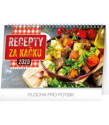 Table calendar Cheap meal tips 2020