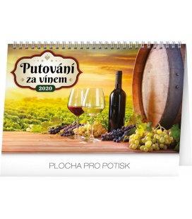 Table calendar Wine destinations 2020