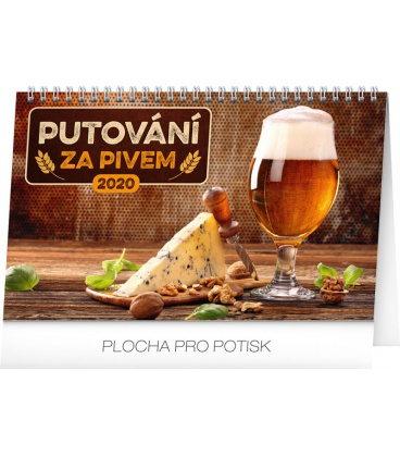 Table calendar Beer destinations 2020