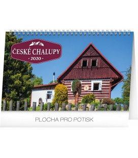 Table calendar Czech cottages 2020