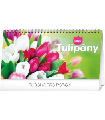 Table calendar Poppies lined SK 2020