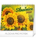 Table calendar Sunflower planner with quotes SK 2020