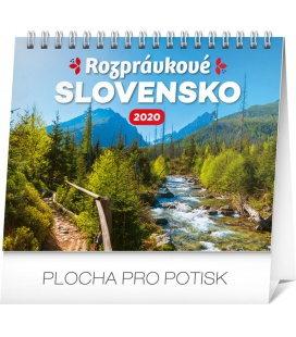 Table calendar Slovak scenic beauty 2020
