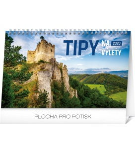 Table calendar Travel tips SK 2020