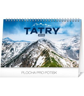 Table calendar Tatras 2020