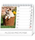 Table calendar Dogs – with dog names SK 2020