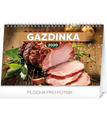 Table calendar Home Cookbook SK 2020