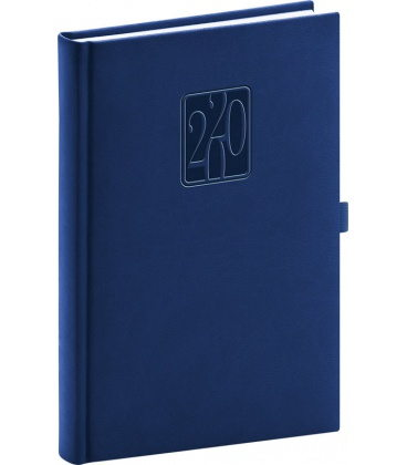 Daily diary A5 Vivella Classic 2020