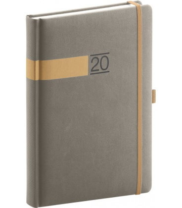 Daily diary A5 Twill 2020