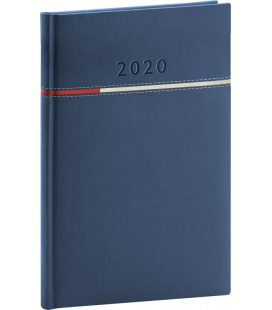 Weekly diary A5 Tomy blue 2020