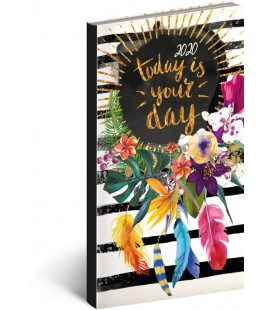 Weekly pocket diary Cambio Fun - Floral 2020