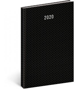 Daily diary A4 Magnus 2020 black 2020