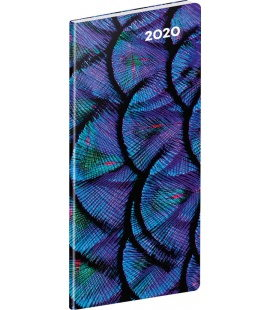 Monthly Pocket Diary planning Detail 2020