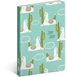 Weekly diary B6 18months Petito - Llamas 2019/2020
