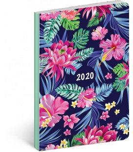 Weekly diary B6 ultralight Flowers 2020