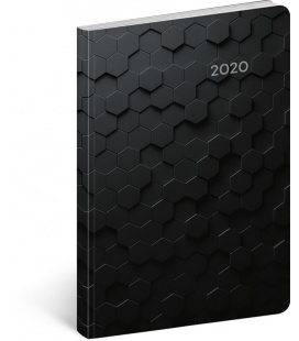 Weekly diary B6 ultralight Hexagon 2020