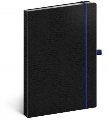 Notebook A5 Vivella Classic black, blue, dotted 2020