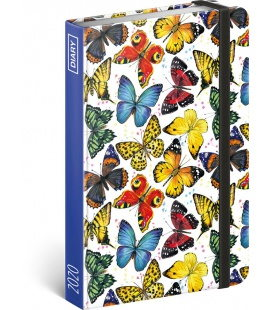 Weekly pocket diary Butterflies 2020