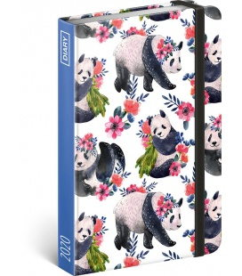 Weekly pocket diary Pandas 2020