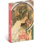 Magnetic weekly diary Alphonse Mucha 2020
