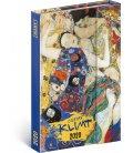 Magnetic weekly diary Gustav Klimt 2020