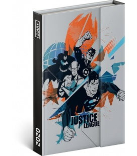 Magnetic weekly diary Justice League 2020