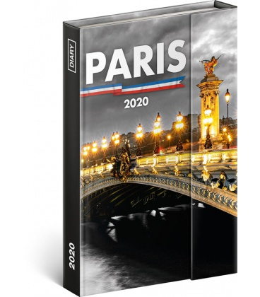 Magnetic weekly diary Paris 2020