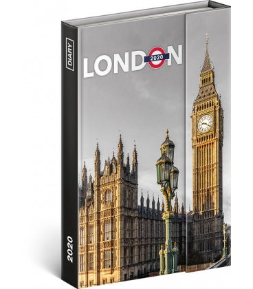 Magnetic weekly diary London 2020